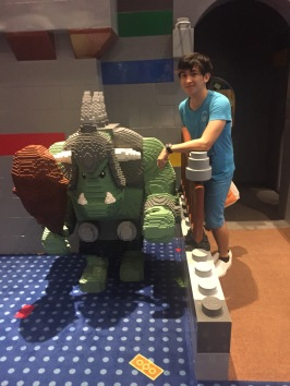 With the legogre :D