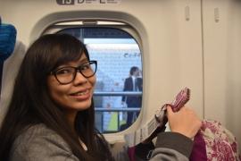 Shinkansen to Tokyo