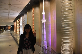 I'm almost as tall as the skytree